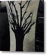 Tree Vase Metal Print by Lee Farley