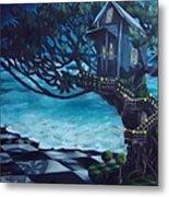 Treehouse Metal Print by Lori Keilwitz
