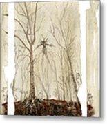 Treeman Metal Print