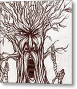 Treeman Metal Print by Michael Mestas