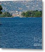 Trees And Islands Metal Print