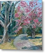 Trees Of Windermere Metal Print by Susan E Jones