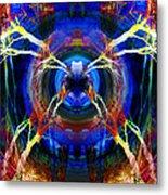 Treescape Abstract II Metal Print