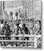 Trenton: Prisoners, 1776 Metal Print