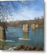 Trestle Of The Past Metal Print