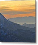 Trevenque Mountain  2079 M Metal Print