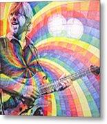Trey Anastasio Rainbow Metal Print