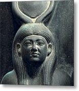 Triad Of Menkaure Mycerinus Metal Print