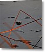 Triangle Drama Metal Print