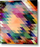 Triangles And Parallelograms Metal Print