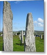 Triangular Callanish Stone Metal Print