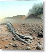 Triassic-jurassic Extinction Metal Print