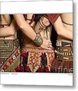 Tribal Dancers Metal Print
