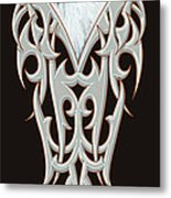 Tribal Eagle Metal Print