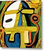 Tribal Mood Metal Print