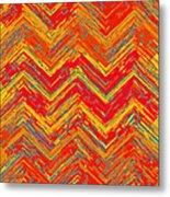 Tribal Pattern 019 Metal Print