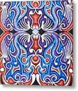 Tribal Symmetry 1 Metal Print