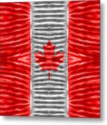 Triband Flags - Canada Metal Print