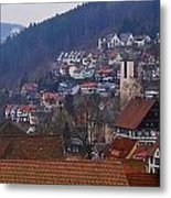Triberg Germany Metal Print