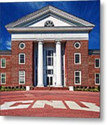 Trible Library Christopher Newport University Metal Print