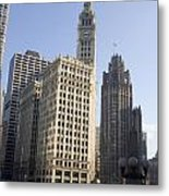 Tribune Tower Chicago Metal Print