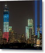Tribute In Light Xiii Metal Print by Clarence Holmes