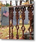 Tribute To A Soldier Metal Print