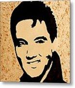 Tribute To Elvis Presley Metal Print