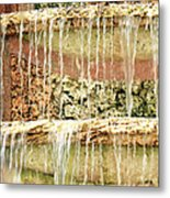 Trickle-down Effect Metal Print