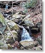 Trickle Of Water Metal Print