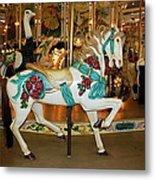 Trimper's Carousel 3 Metal Print