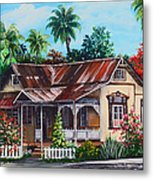 Trinidad House  No 1 Metal Print
