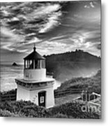 Trinidad Light In Black And White Metal Print by Adam Jewell