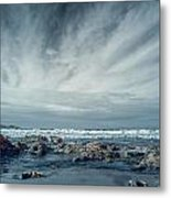 Trinidad State Beach In Infrared Metal Print