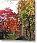 Trinity Cemetery Metal Print by Sarah Loft