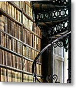 Trinity Collage Library Dublin Metal Print