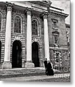 Trinity College Examination Hall Metal Print