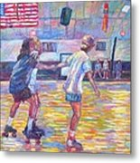 Trios At Dominion Skating Rink Metal Print