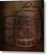 Triple Barrels Metal Print by Susan Candelario
