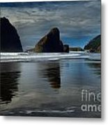 Triple Reflections Metal Print by Adam Jewell