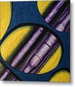 Tripping Pipe Metal Print