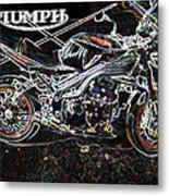 Triumph Abstract Metal Print