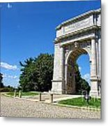 Triumph And Sorrow Arch  Metal Print