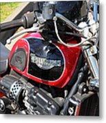 Triumph Motorcycle 5d28101 Metal Print