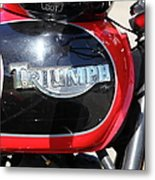 Triumph Motorcycle 5d28104 Metal Print