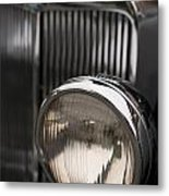 Triumph Roadster One Headlight Metal Print