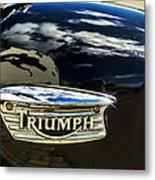 Triumph Metal Print