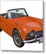 Triumph Tr4 - British - Sports Car Metal Print