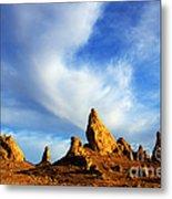 Trona Pinnacles California Metal Print