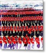 Trooping The Colour Metal Print